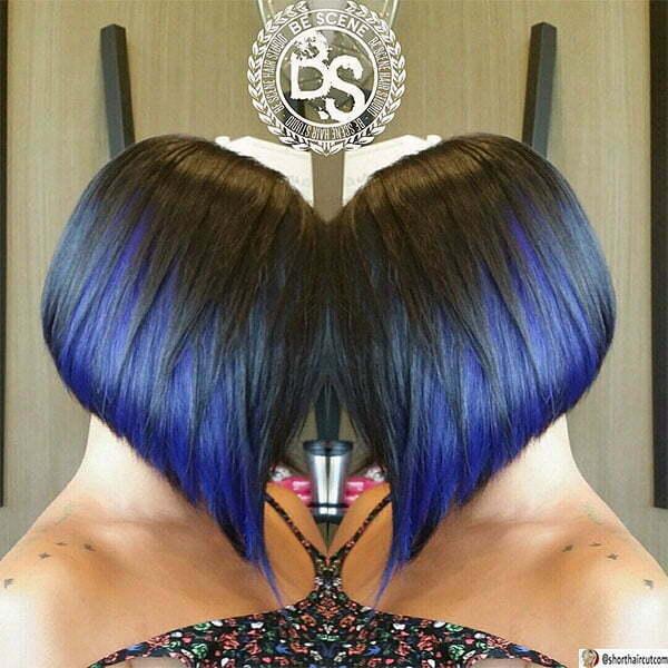good blue haircuts
