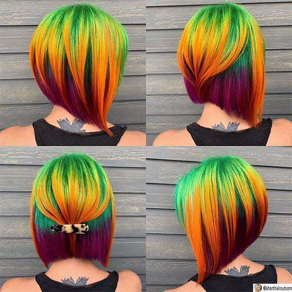 green haircuts