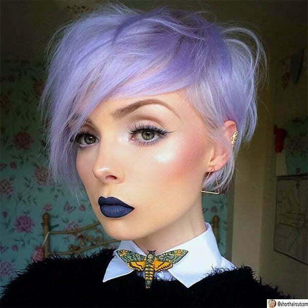 hair color ideas for purple hair