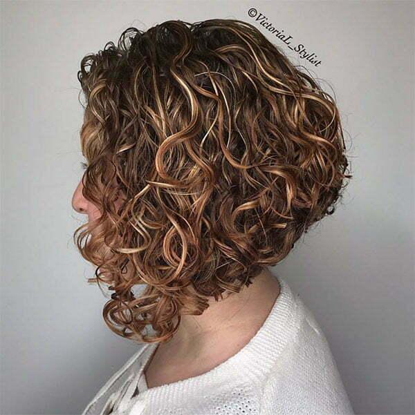 hair colour ideas for curly hair