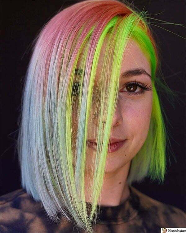 hair green ideas