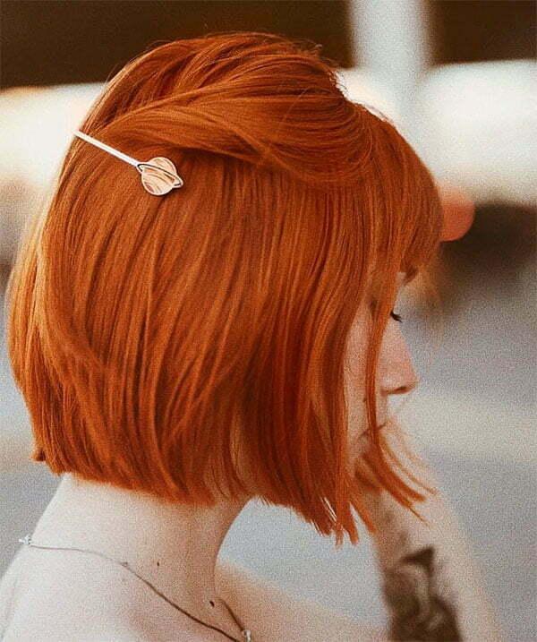 hair ideas red