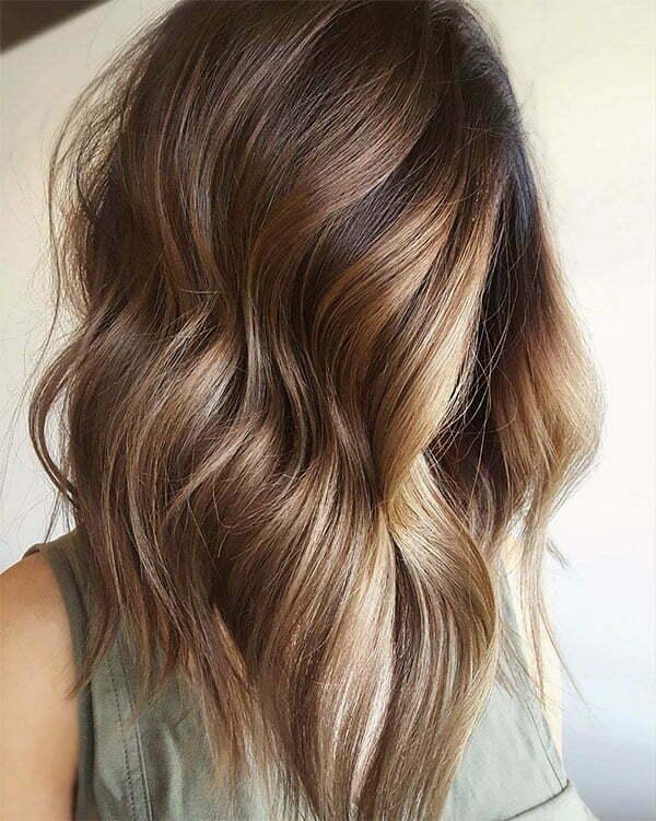 hair style wavy hair