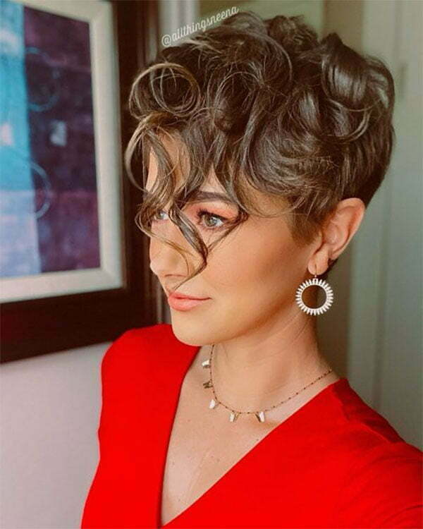 hair styles for women curly