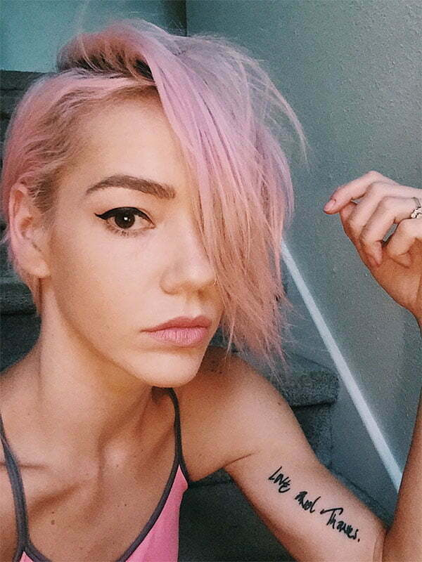 haircuts for pink hair