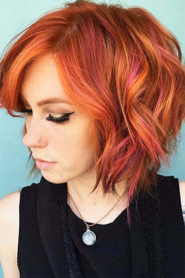 haircuts for wavy hair 2020