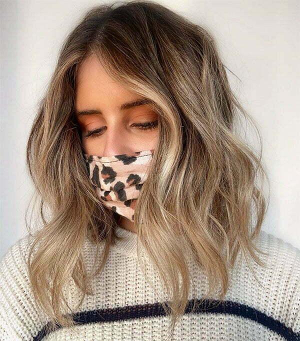 haircuts for wavy hair 2021