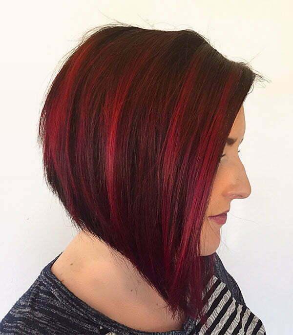 haircuts red hair
