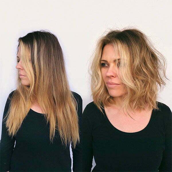 hairdos for wavy hair