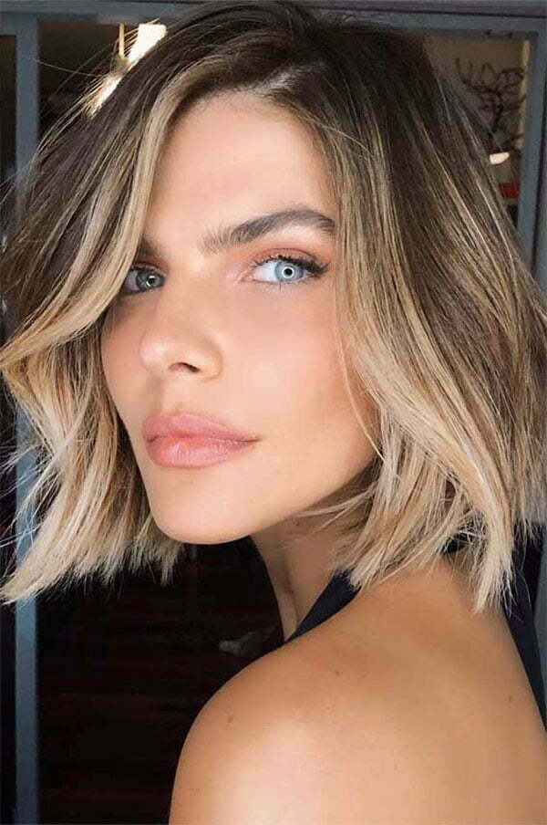 hairstyles for blonde short hair