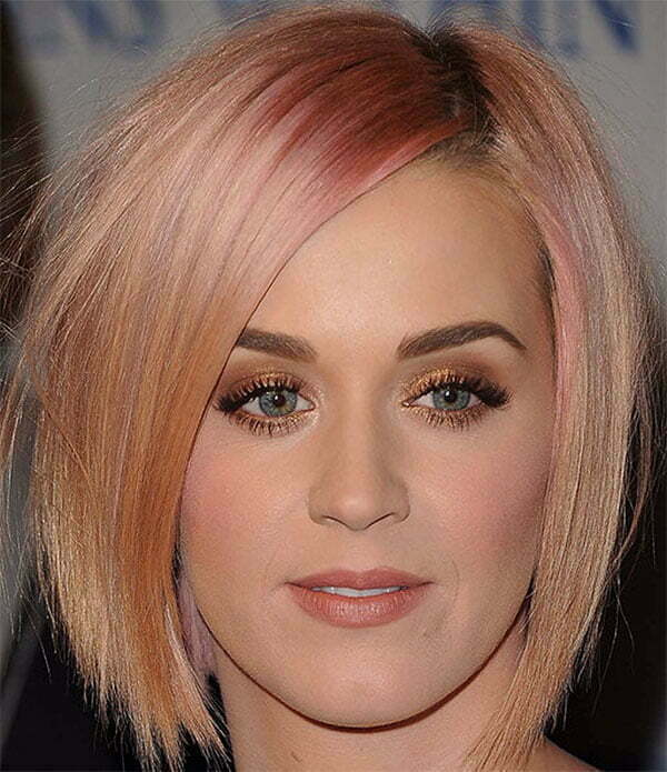 hairstyles for pink short hair