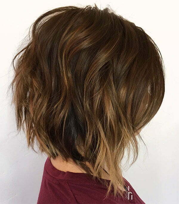 hairstyles for wavy hair 2020