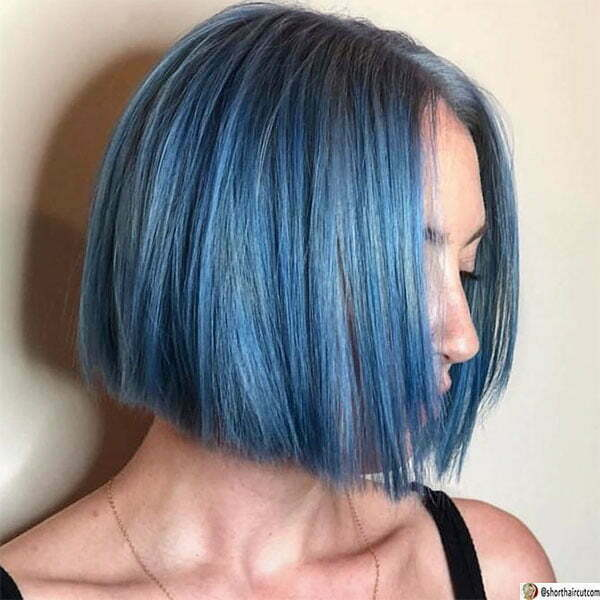 hot blue with