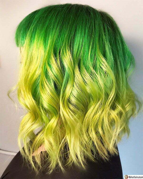 hot cute green