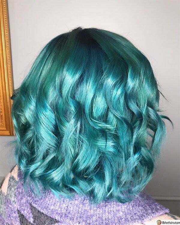 hot green hair