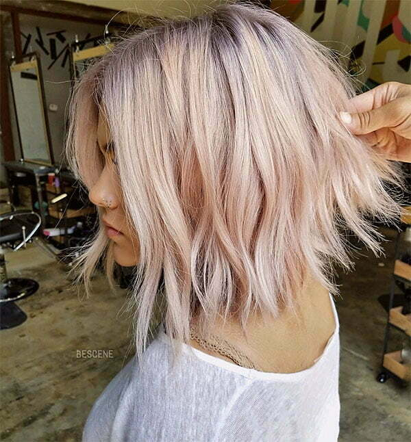 hot pink short hair