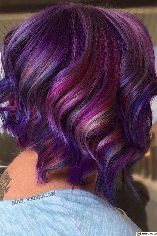 hot purple cute