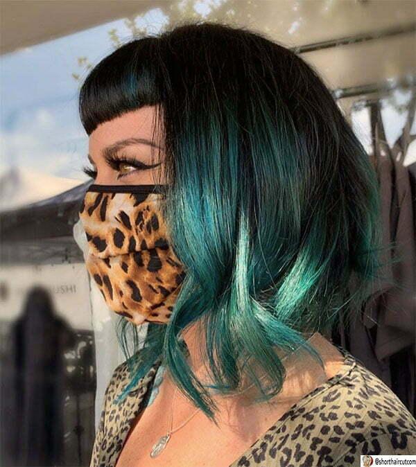 hot short haired green