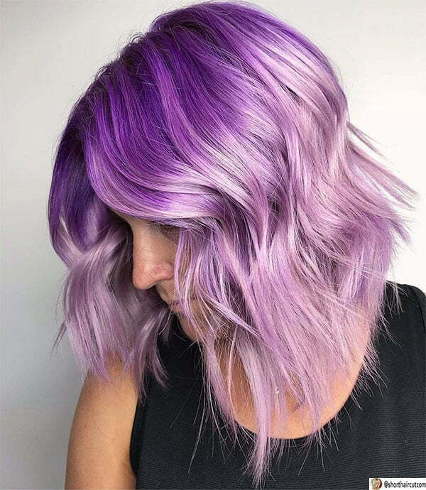 hot short haired purple