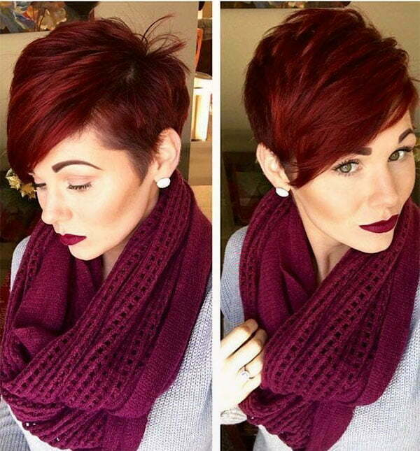 images of short red hair