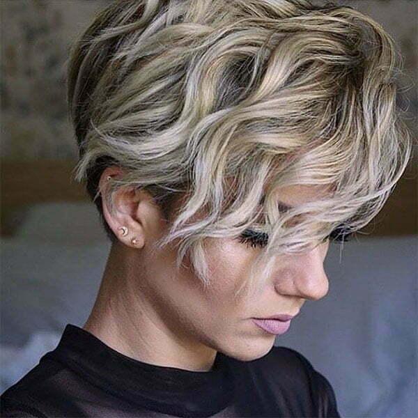 images of short wavy haircuts