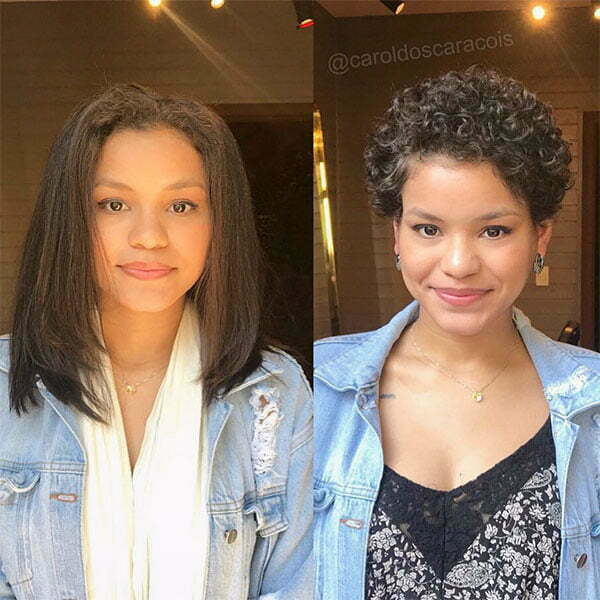 nice hairstyles for short curly hair