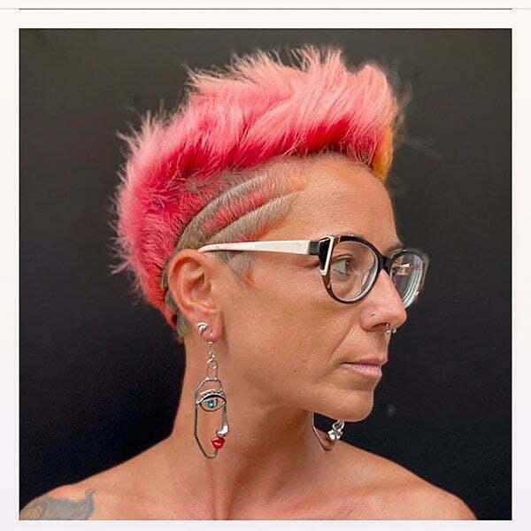 perfect pink hair