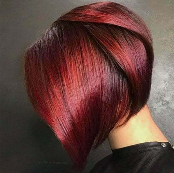 pictures of red hairstyles