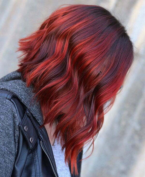 pictures of short red hair