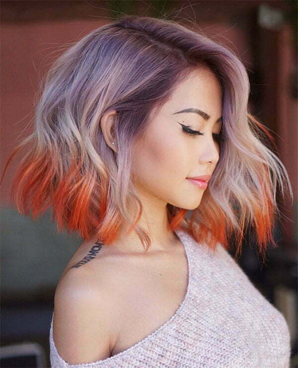 pictures of wavy hair