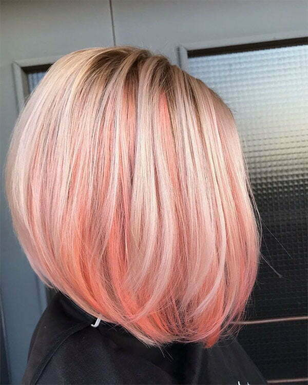 pink hair color pictures