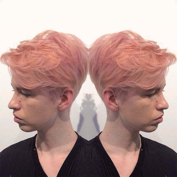 pink hair color styles