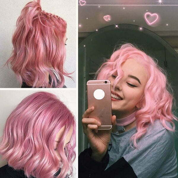 pink hair color trends