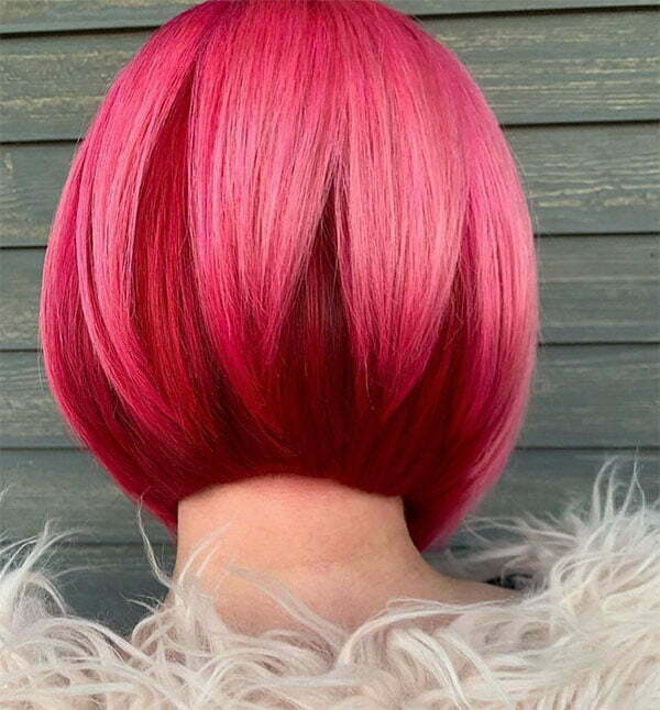 pink hair for women