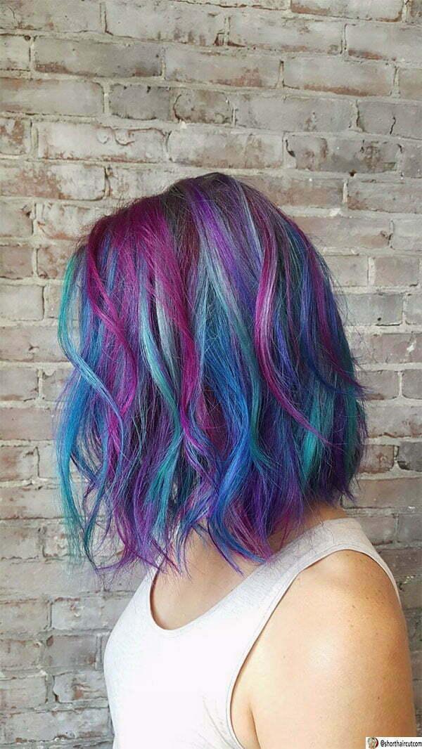 popular purple hairstyles