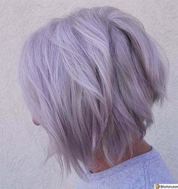 purple hair pictures ideas