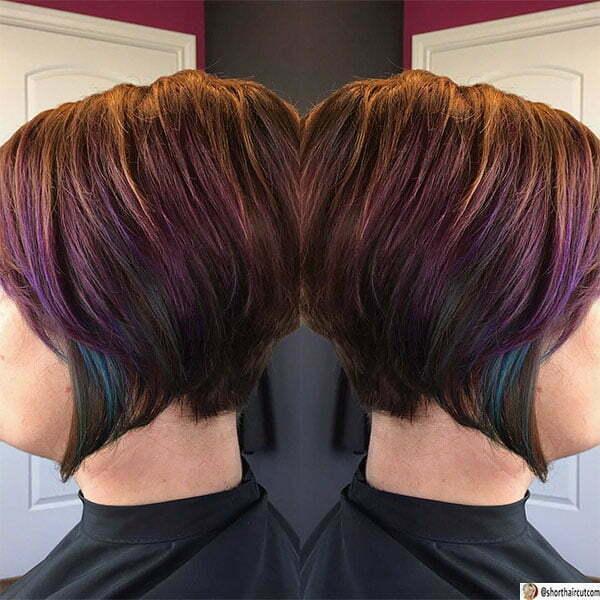 purple haircut ideas