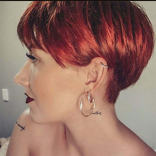red hair color designs