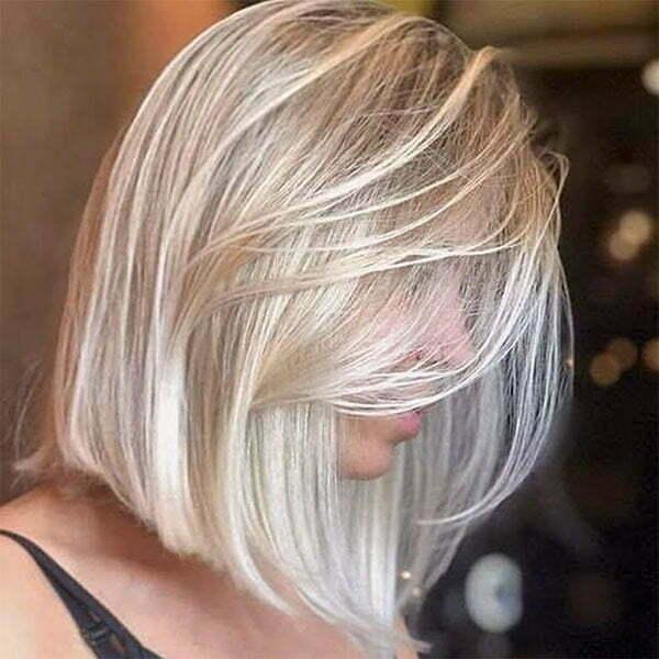 short blond cuts
