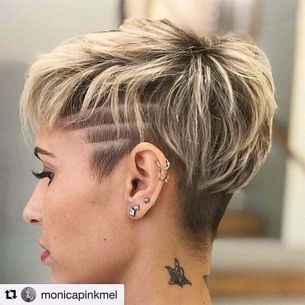 short blond haircuts