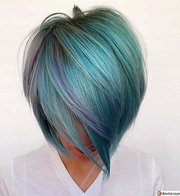 short blue cut