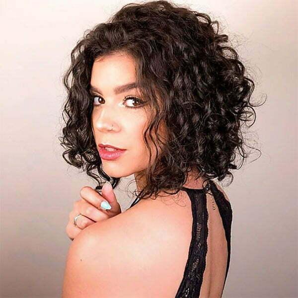 short curly hair photos