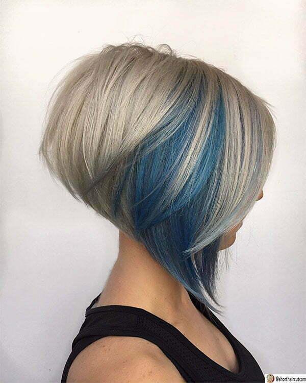 short cut blue