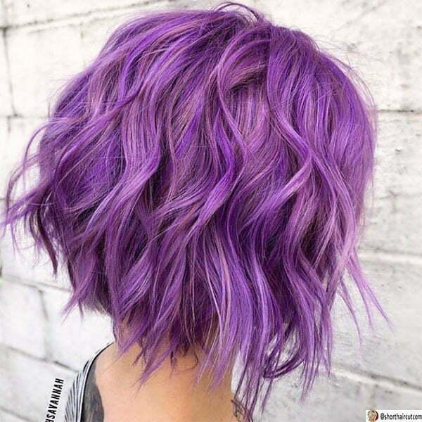 short cut purple