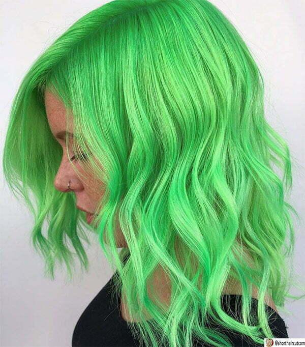 short green