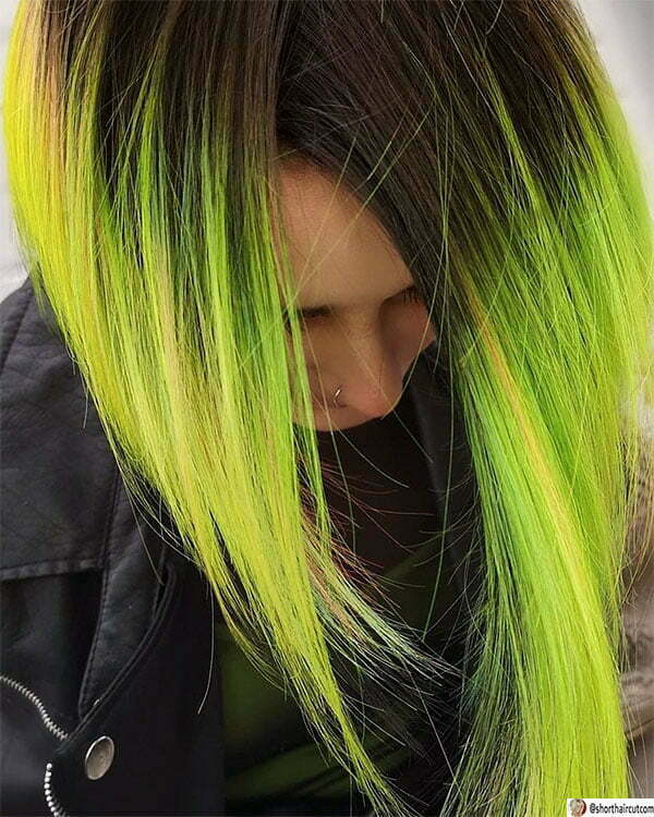 short green hair styles