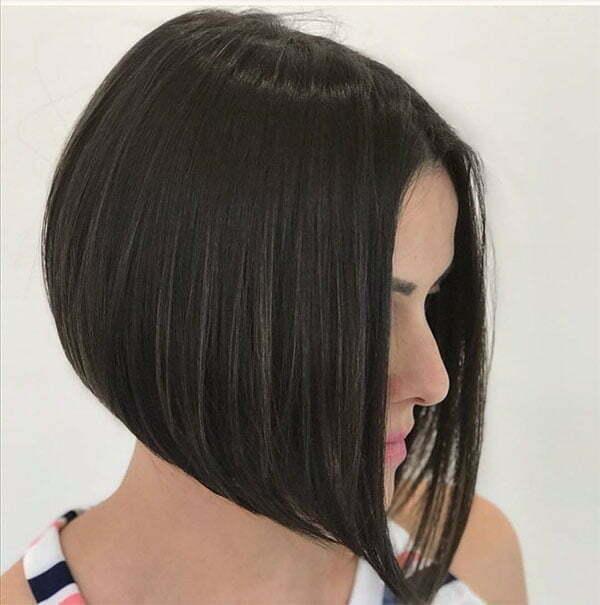 short hair cut for straight hair