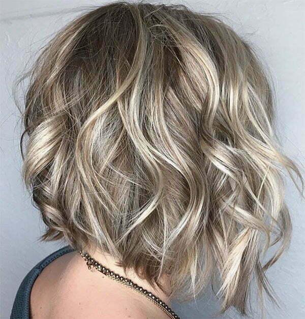 short hair for wavy hair