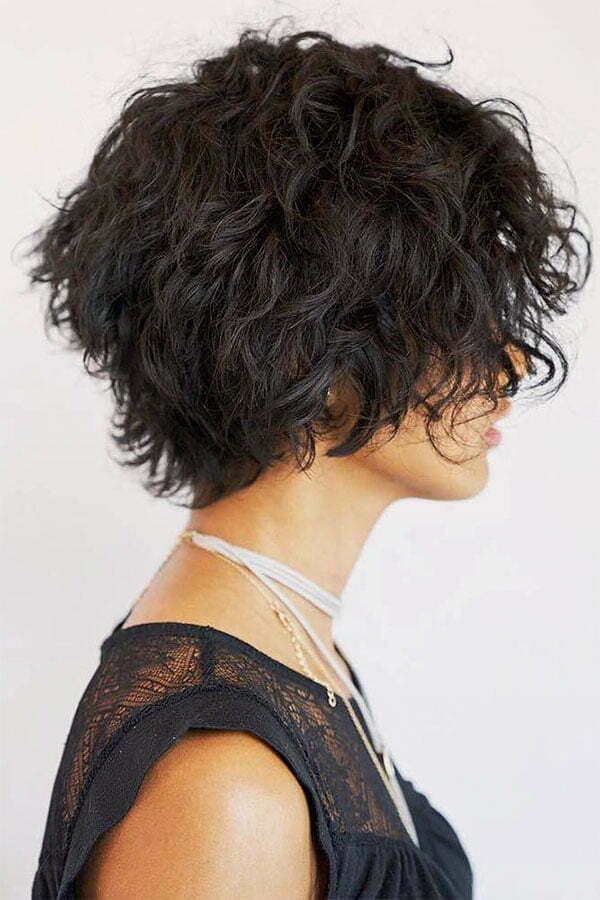 short hair haircuts for curly hair