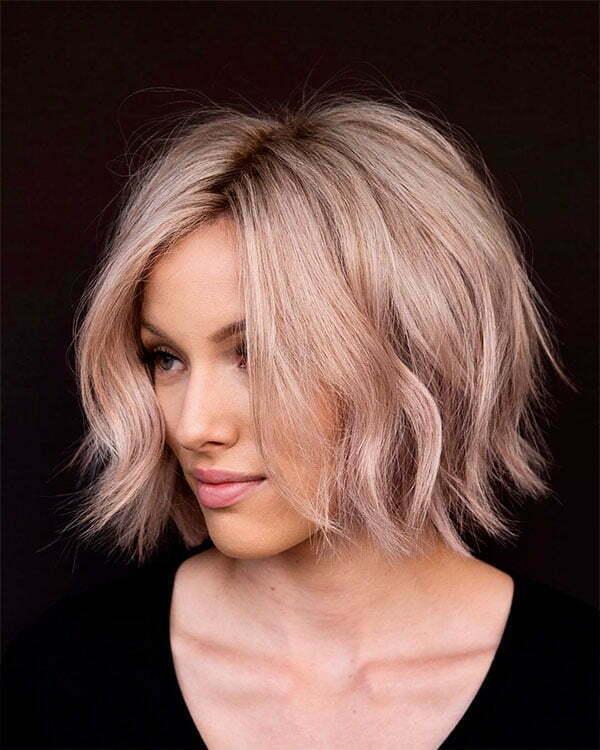 short hair styles wavy hair